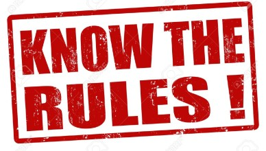 22068882-Know-the-rules-red-grunge-rubber-stamp-vector-illustration-Stock-Vector